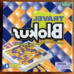 Travel Blokus Strategy Geometric Board Game to go For 2 Play