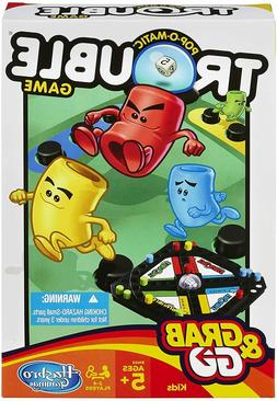 Trouble Board Game for Kids Ages 5 & Up, 2-4 Players A5064 T