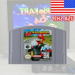 USA Video Game Cartridge Console Card For Nintendo N64 Mario