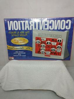 Vintage 1998 Concentration Puzzle Game New Family