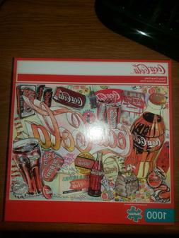 Buffalo Games Vintage Coca-Cola 1000 Piece Puzzle NEW in Box