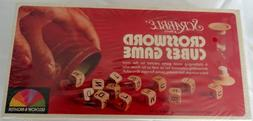 Vintage Scrabble Crossword Cubes Word Game 1976 Great For Ad