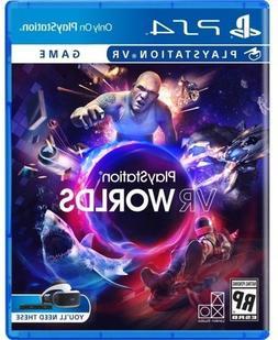 NEW PLAYSTATION VR WORLDS PLAYSTATION 4 PS4 PSVR SEALED FAST