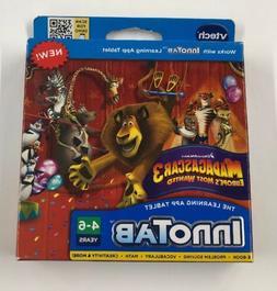 Vtech Inno Tab Madagascar 3 Educational Learning Game 4-7 yr