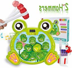 whack a frog game toddler toys