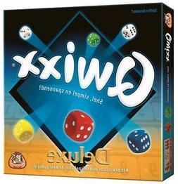White Goblin Boardgame Qwixx Deluxe  Box SW
