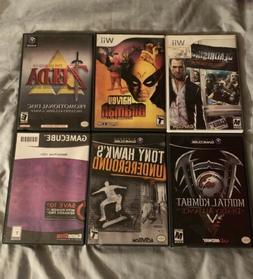 Wii & GameCube Games - 6 Games! Zelda 64, THUG, Metroid, MK
