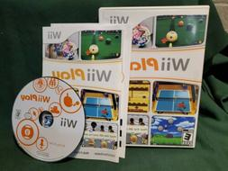WII Play Wii Nintendo Complete Tested 9 games in 1 Ping Pong