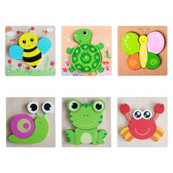 Wooden Puzzles Puzzle Game Jigsaw Educational Toy Cute Creat