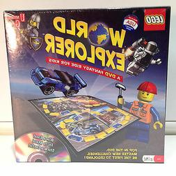 Lego World Explore DVD Board Game Ages 6+ Years Boys & Girls