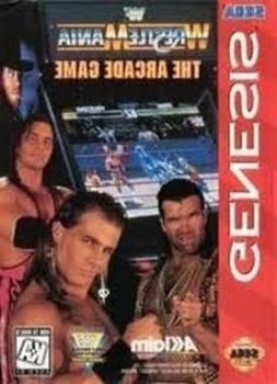 WWF Wrestlemania Arcade - Original Sega Genesis Game