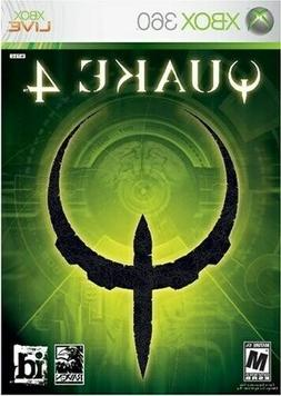XBOX 360 QUAKE 4 STRATEGIC SHOOTER GAME MULTIPLAYER NEVER OP
