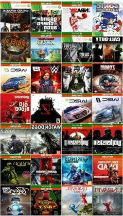 Xbox One Games X4 Choose 4