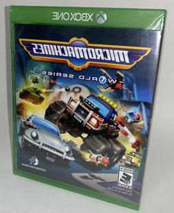 XBOX ONE MICROMACHINES WORLD SERIES BRAND NEW VIDEO GAME MIC