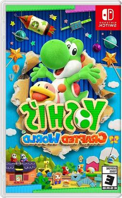 Yoshi's Crafted World Nintendo Switch Game