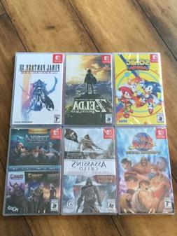Zelda FF12 Sonic Mania Trine And Rebel Collection Str Fghtr