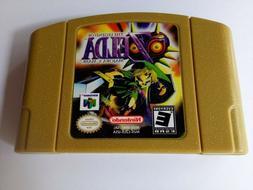 Zelda The Legend Of Majora's Mask Game Card US Version Fit F