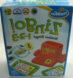 Thinkfun Zingo 1 2 3 Number Bingo Game, Award Winner Toy Of